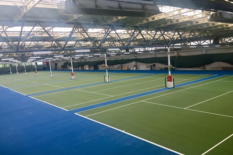 Nova podloga tenis terena